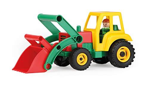 LENA Aktive Traktor mit Frontschaufel, Schaukarton, 04361