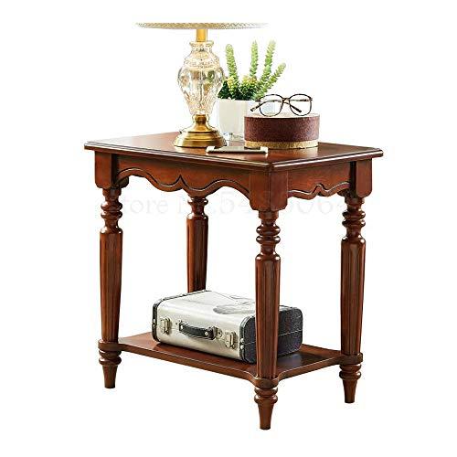 SJYDQ Moderner minimalistischer Couchtisch Kleines Seitensofa Ecktisch Minitisch Minitisch Telefontisch Kleiner quadratischer Tisch