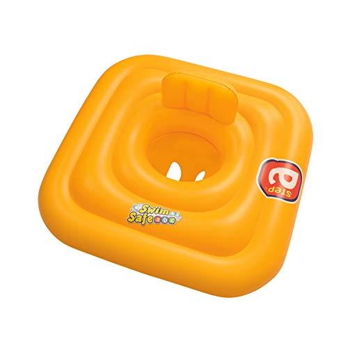 BESTWAY 32050 Swim Safe Baby Support Step A 76x76 cm, Schwimmsitz, Multicolor