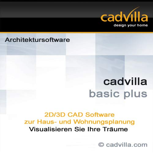 cadvilla basic plus, 2D/3D CAD Architektur Software / Programm