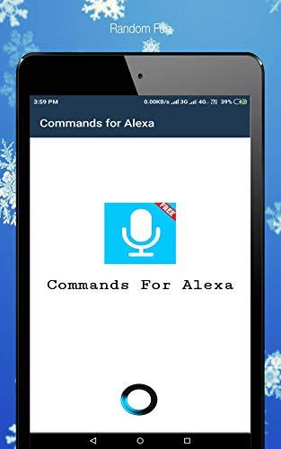 Commands for Amazon Alexa