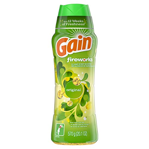 Gain Fireworks Laundry Scent Booster Beads for Washer, Original Scent, 20.1 Oz