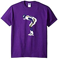 Purple Minnesota Moss Mooning Crowd T-Shirt Adult