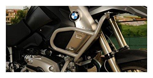 MotorbikeComponents, Protezione serbatoio tubolare in ferro verniciato Argento - Bmw R 1200 GS / Adventure 2007