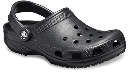 Crocs Classic, Zuecos Unisex Adulto, Black, 41/42 EU