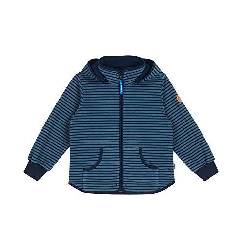 Finkid Tonttu Striped Gestreift-Blau, Kinder Freizeitjacke, Größe 90-100 - Farbe Blue Mirage - Navy