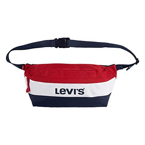 Levi's Kids' Big Crossbody Sling Bag, Red/White, O/S