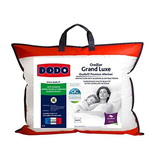 Dodo Oreiller Grand Luxe Quallofil Allerban 50x70cm