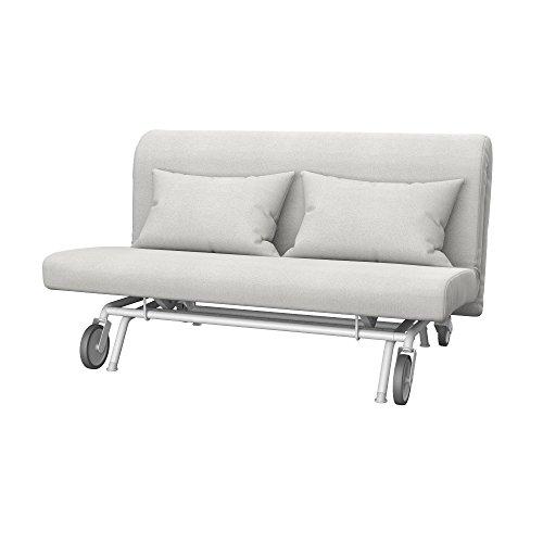 Soferia - IKEA PS Funda para sofá Cama de 2 plazas, Glam Beige