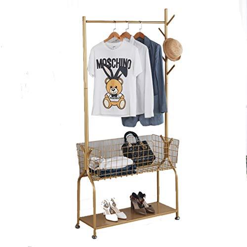 W-bgymj Muebles Nordicos Ropa Perchero,Multifuncional el Estante De Exhibición,De Pie Perchero,Perchero De Gabinete De Entrada con Almacenamiento De Sombrero (Size : 80cm*32cm*185cm)