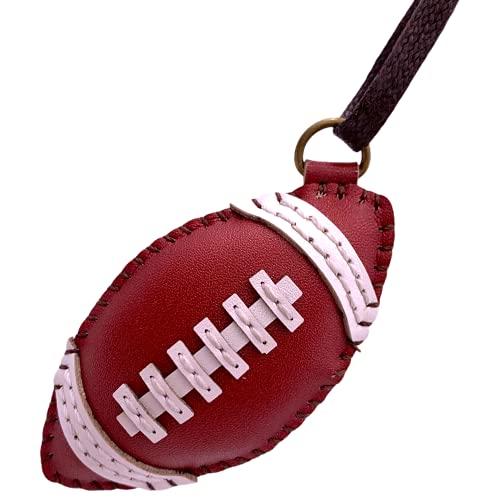 immi Anhänger: American Football Rugby Taschenanhänger, liebevoll handgefertigt