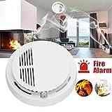 Rauchmelder,Rauchwarnmelder mit optoelektronischem Sensor Einfach zu installierende 80-dB-Warnung, Brandschutz für die Home Hotel School