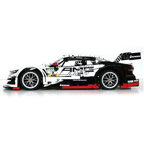 WYY C63 Super Sports Car Building Blocks, MOC Gebäude-Ziegelstein (2500 + PCS), DIY Montage BAU Spiele Ziegelstein-Spielzeug,with Motor