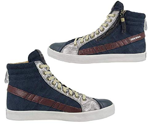 Diesel Herren Schuhe Sneaker D-String Plus Sneaker (40)