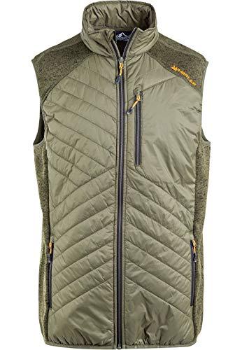 Whistler Herren Outdoorweste Julian Fleece HYBRID in großen Größen verfügbar 3061 Ivy Green, 4XL