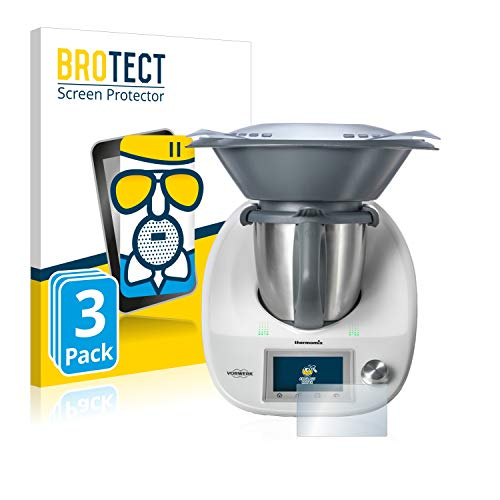 BROTECT Protector Pantalla Cristal Mate Compatible con Vorwerk Thermomix TM5 Protector Pantalla...