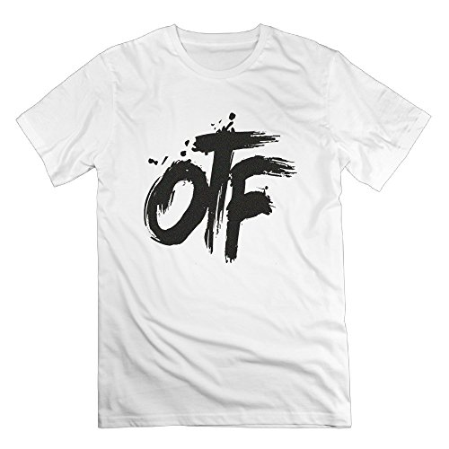 Chocy Men's Lil Rapper Durk OTF Only The Family Particular Tshirt White Size S