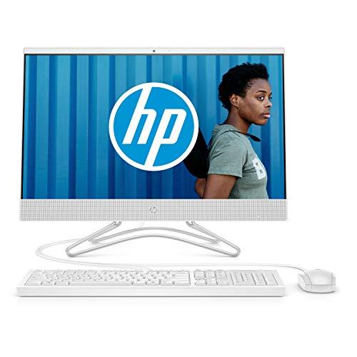 HP 24-f0079nf Ordinateur Tout-en-un 23,8'' FHD IPS Blanc (Intel Core i3, 4...