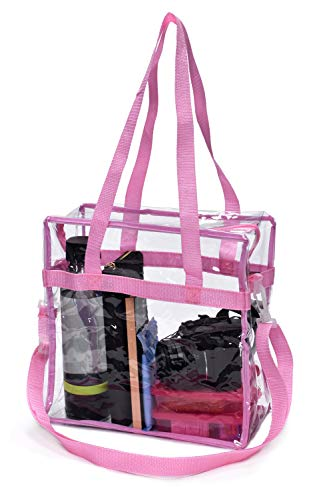 Why Choose Handy Laundry Clear Tote Bag Stadium Approved - Shoulder Straps and Zippered Top. Perfect...