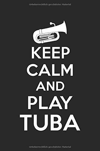 Terminplaner 2021: Terminkalender für 2021 mit Keep Calm Tuba Cover | Wochenplaner | elegantes Softcover | A5 | To Do Liste | Platz für Notizen | für Familie, Beruf, Studium und Schule