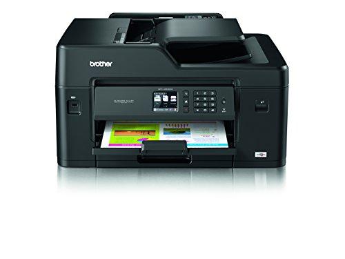 Brother MFC-J6530DW - Impresora multifunción de Tinta (Ethernet, 6,8 cm, 250 Hojas A3, 22/20 ppm Mono/Color), Color Negro