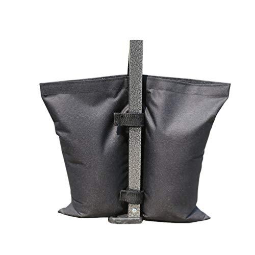 BesportBLE 1 stuk goedkoop en waterafstotend scheurbestendig stoffen hemel baldakijn zandzakken tent gewicht zakken voor zonnezeil pop-up tent outdoor
