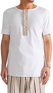 [ハバーサック] ヘンリーネック Tシャツ 811825 (メンズ)