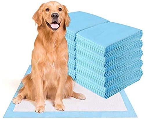 UMBRANDED Trainingsunterlagen für Haustier, Hunde Welpen Hygieneunterlagen, Toilettenmatten Saugfähige Welpen-Training Pads, Hundeklo Hundepads 80Tabletten