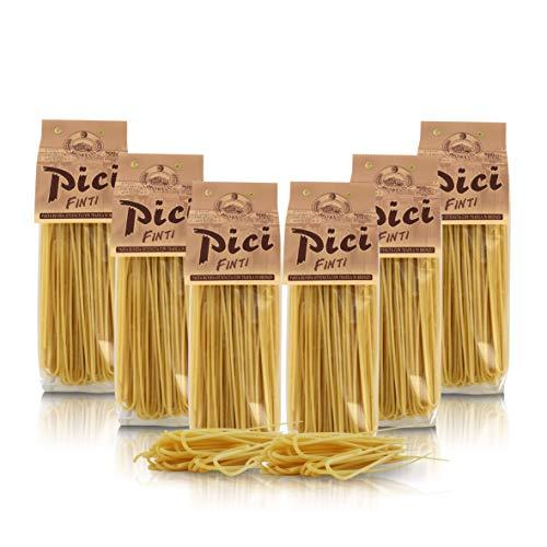 Antico Pastificio Morelli 1860 Srl Pici Finti, Typische regionale Paste, 6 Packungen à 500 g