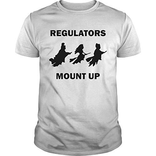 jamestrond H.ocus P.ocus Witch Regulators Mount Up Halloween Shirt - T Shirt for Men and Women.