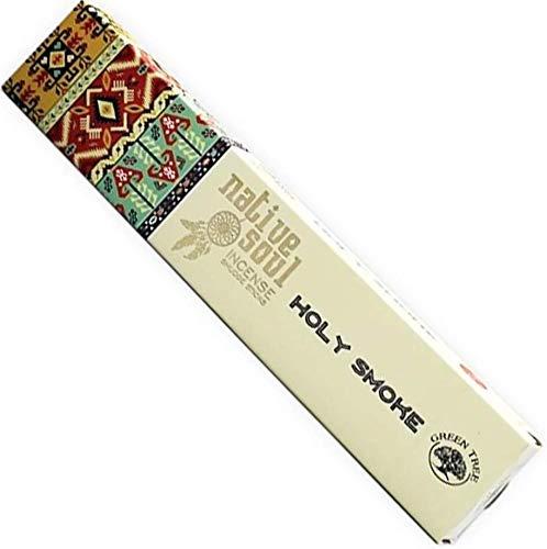 Green Tree Products Native Soul Holy Smoke Box of 12 Incense Sticks