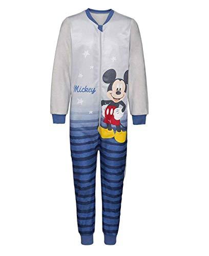Herding Jungen Fleece Jumpsuit Kinder Overall Hausanzug MickeyMouse 110-116
