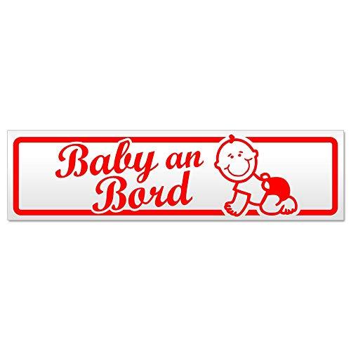 Kiwistar Baby an Bord mit Baby Magnetschild Schild magnetisch