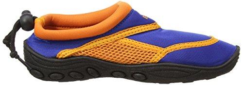 BECO Badeschuhe, Surfschuhe für Kinder,  blau, orange - 6