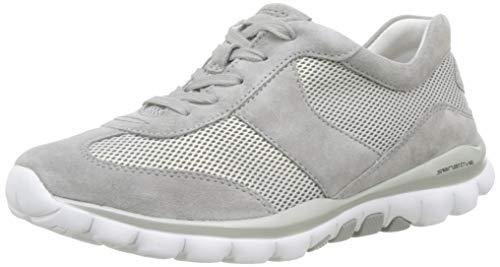 Gabor Shoes Damen Rollingsoft Sneaker, Grau (Silber/Grau 39), 38 EU