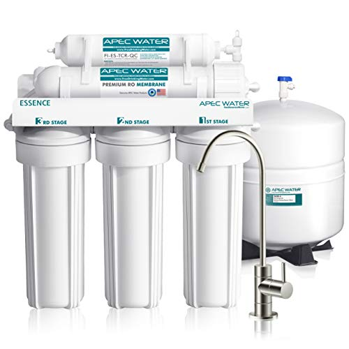 APEC Top Tier 5-Stage Ultra Safe Reverse Osmosis Drinking Water...