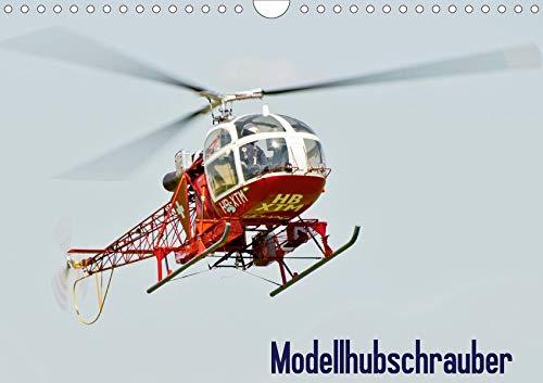 Modellhubschrauber (Wandkalender 2020 DIN A4 quer): Modellhubschrauber im Flug fotografiert (Monatskalender, 14 Seiten ) (CALVENDO Hobbys)