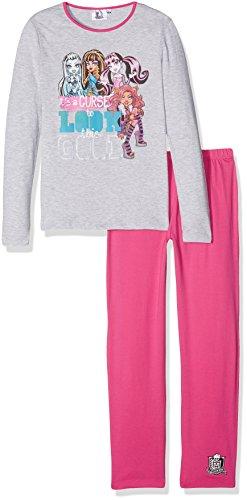 Monster High Schlafanzug Grau 128 (8 Jahre)