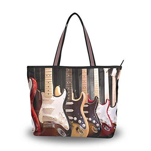 Ahomy - Bolsa de hombro para guitarra eléctrica, para exteriores, gimnasio, senderismo,...