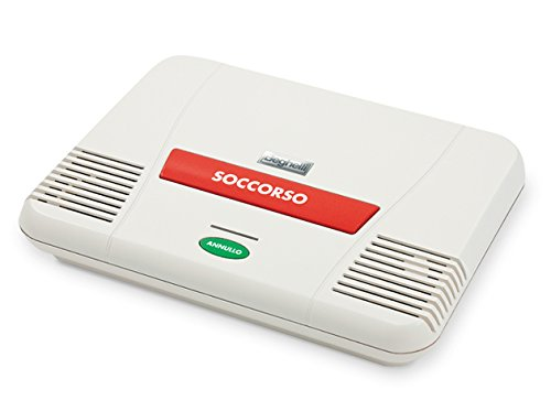 Beghelli 3112N, Sistema integrato di telesoccorso e antintrusione con messaggio a sintesi vocale e vivavoce, 255 x 204 x 55 mm.