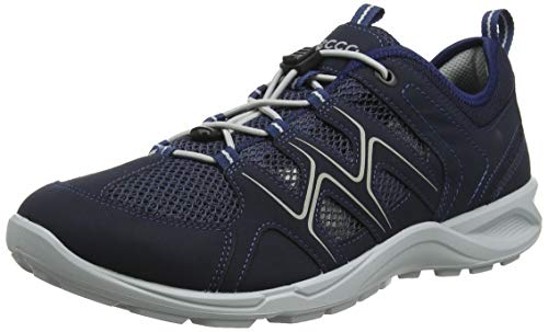 Ecco Herren TERRACRUISELTM Sneaker, Blau (Marine/Marine/Concrete 51406), 43 EU
