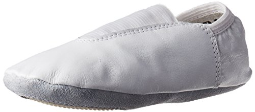 Danzcue Youth White Leather Gymnastic Shoes 1 M US
