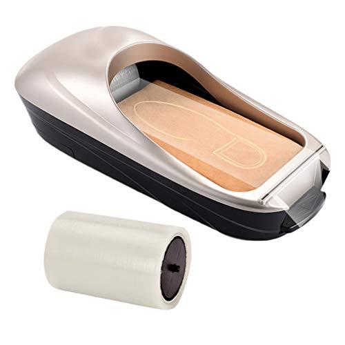 MILISTEN - Cubrezapatos, máquina automática, cubrezapatos, dispensador portátil, funda para zapatos, máquina con zapatos, película para el hogar, laboratorio médico