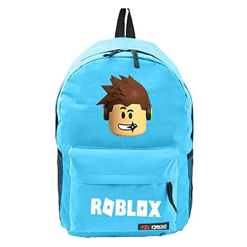 Game Bag Omringende Rugzak Lightning Lattice Star Sky Bag Mannen en Vrouwen Schoudertas Blauw