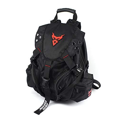 ALI-MC リュック リュックサック ショルダーバッグ バックパック 旅行バッグ ボディバッグ ウエストポーチ アウトドア ハイキング バイク 用品 機能性(赤)