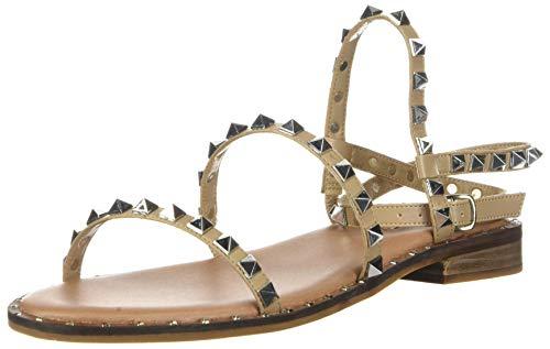 Steve Madden Travel Flat Sandal Tan 8.5