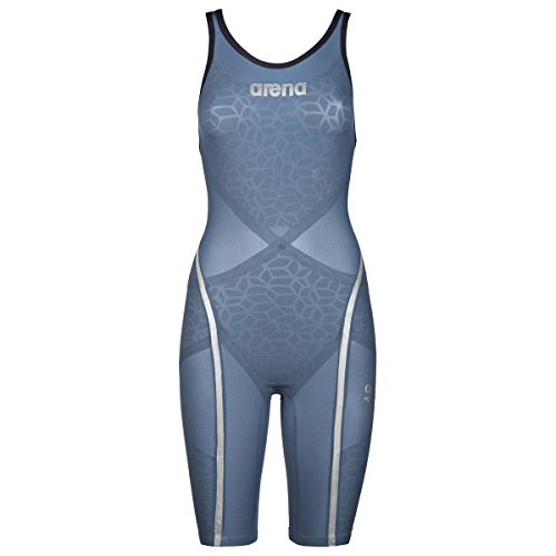 Arena 000002A312-085, Costume da Bagno Intero Donna, Blu (Bluesteel), 30