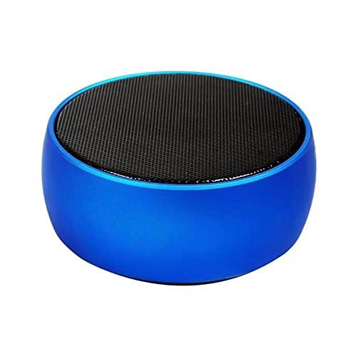 CHOEC Altavoz Bluetooth Portátil Altavoz Bluetooth Retro, con Carcasa De Metal Bluetooth 4.0 Batería De Larga Duración Mini Conexión Rápida Portátil Adecuado para Reuniones Familiares (Azul)