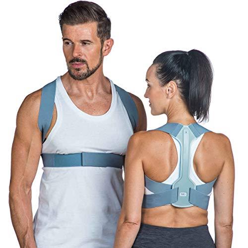 Back Posture Corrector for Women & Men – Adjustable Posture Brace Support...