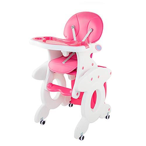 Kinderstoel, multifunctionele babyeettafel, demontage verstelbaar, antislip, stabiel, milieubescherming, bureaustoel, meerdere modi